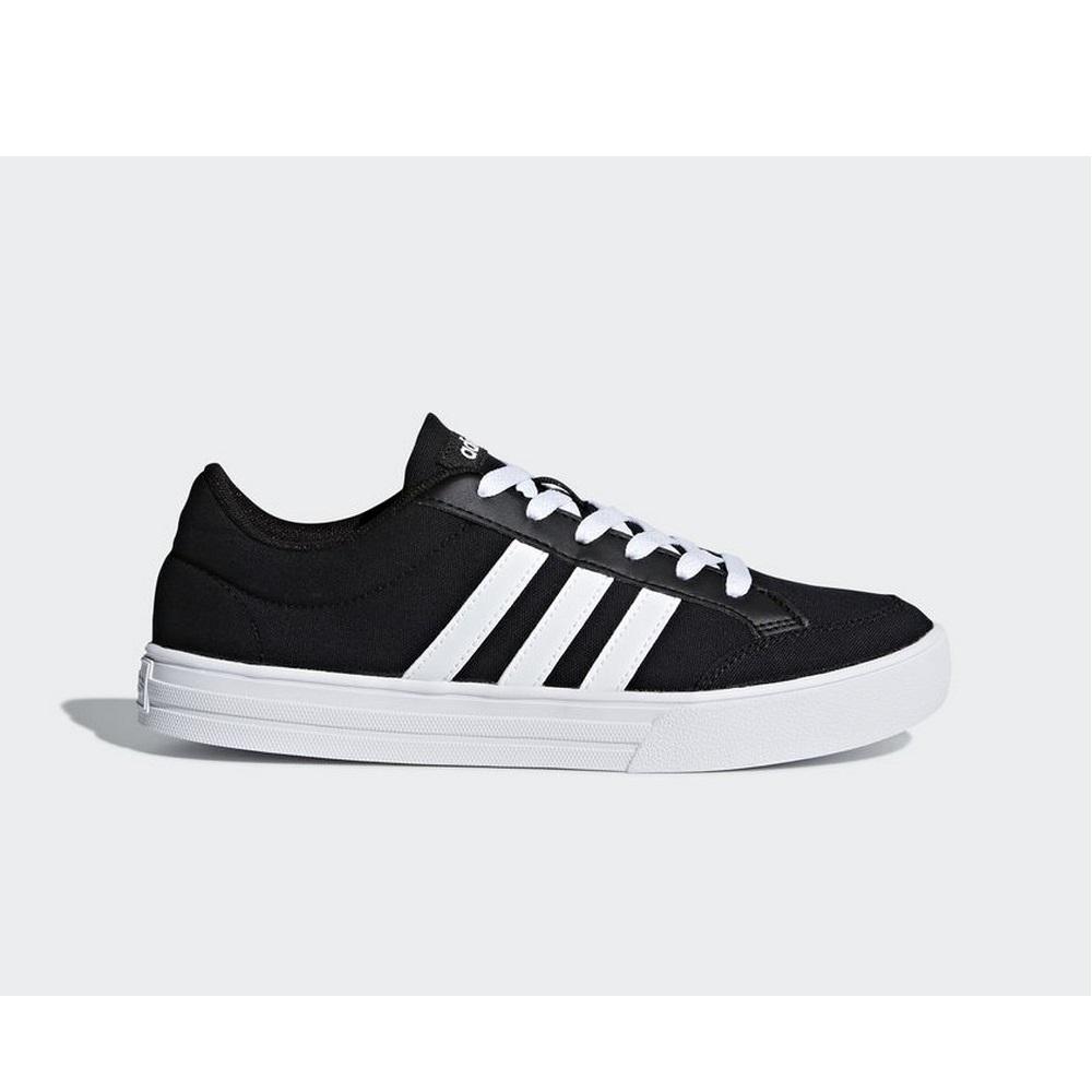 Sneakers AW3890 Zapatillas Adidas Neo VS SET Negro y Blanco Hombre ... 510b59a5bb8