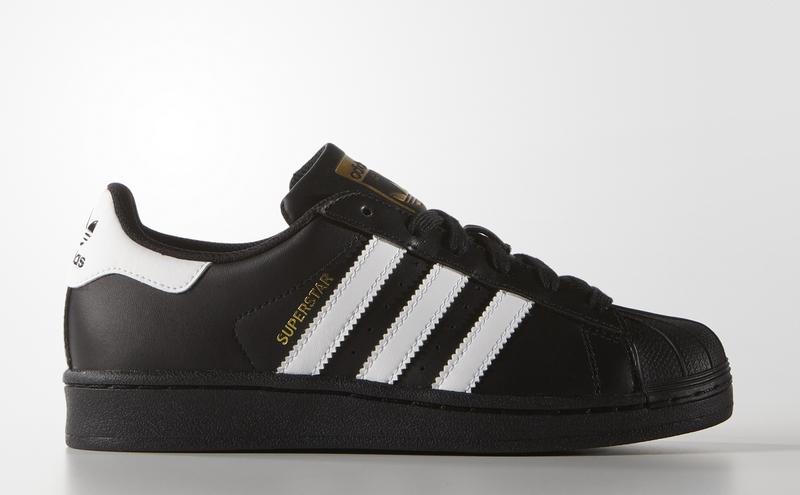Detalles de Sneakers B23642 Zapatillas Adidas Superstar Foundation Negro Unisx
