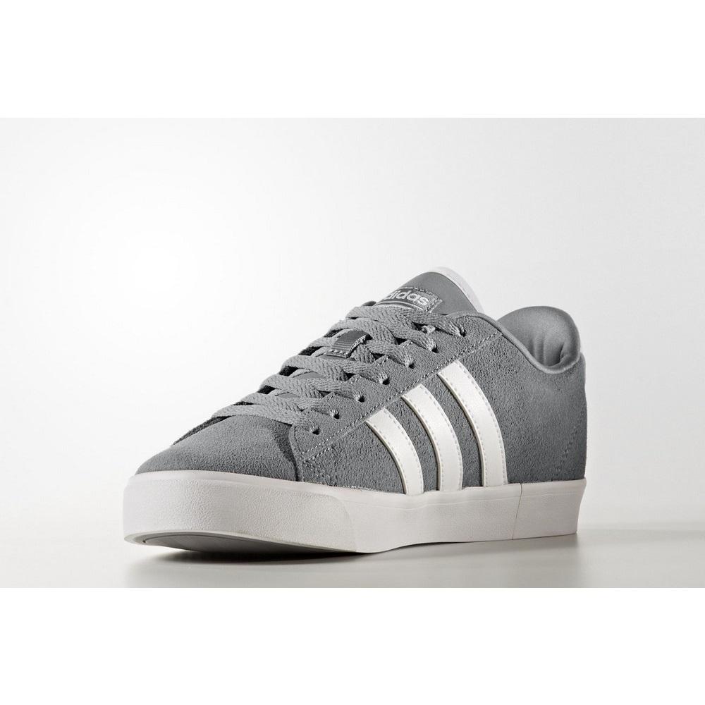 Sneakers B74278 Zapatillas Adidas Cloudfoam Gris y Blanco
