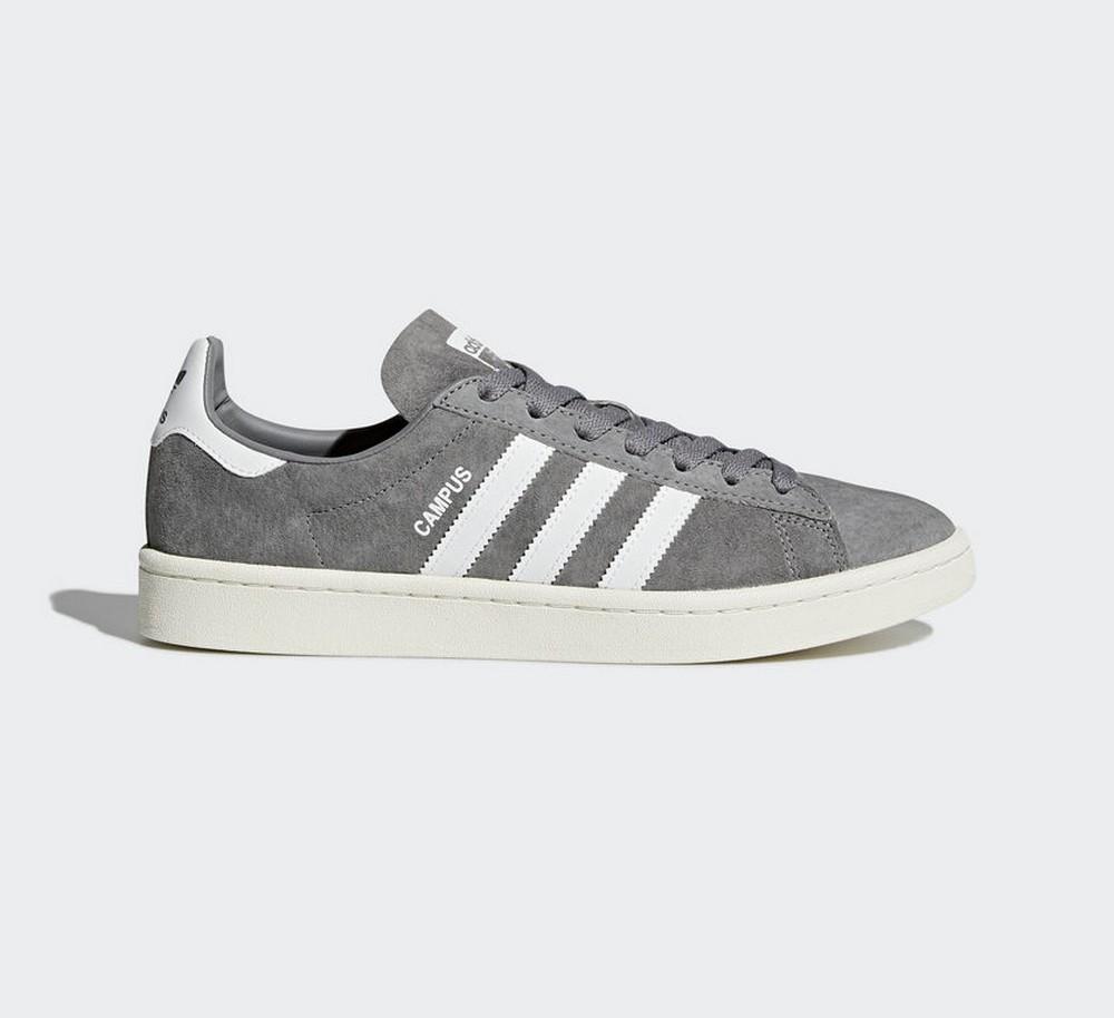 orden Comienzo Automático  Sneakers BZ0085 Zapatillas adidas Campus Gris y Blanco Hombre   eBay