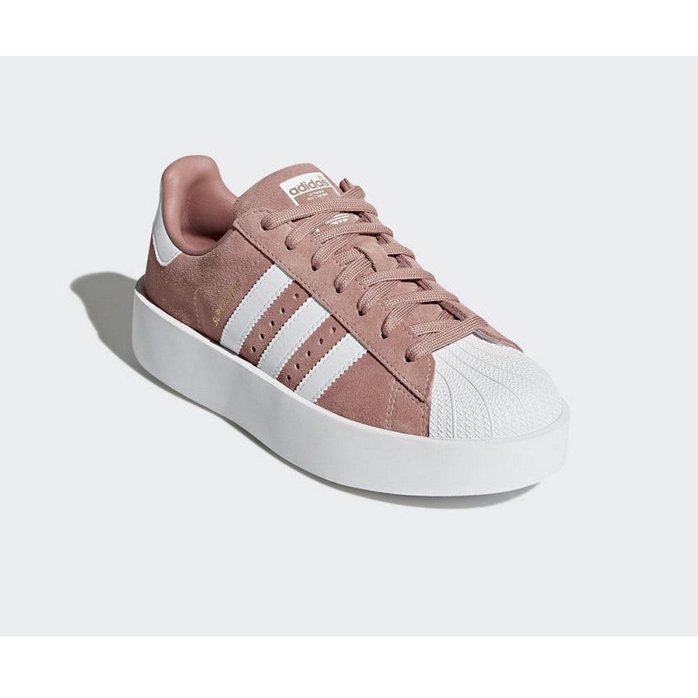 Probablemente Continuar repentinamente  Sneakers CQ2827 Zapatillas Adidas Superstar Bold Rosa Mujer | eBay