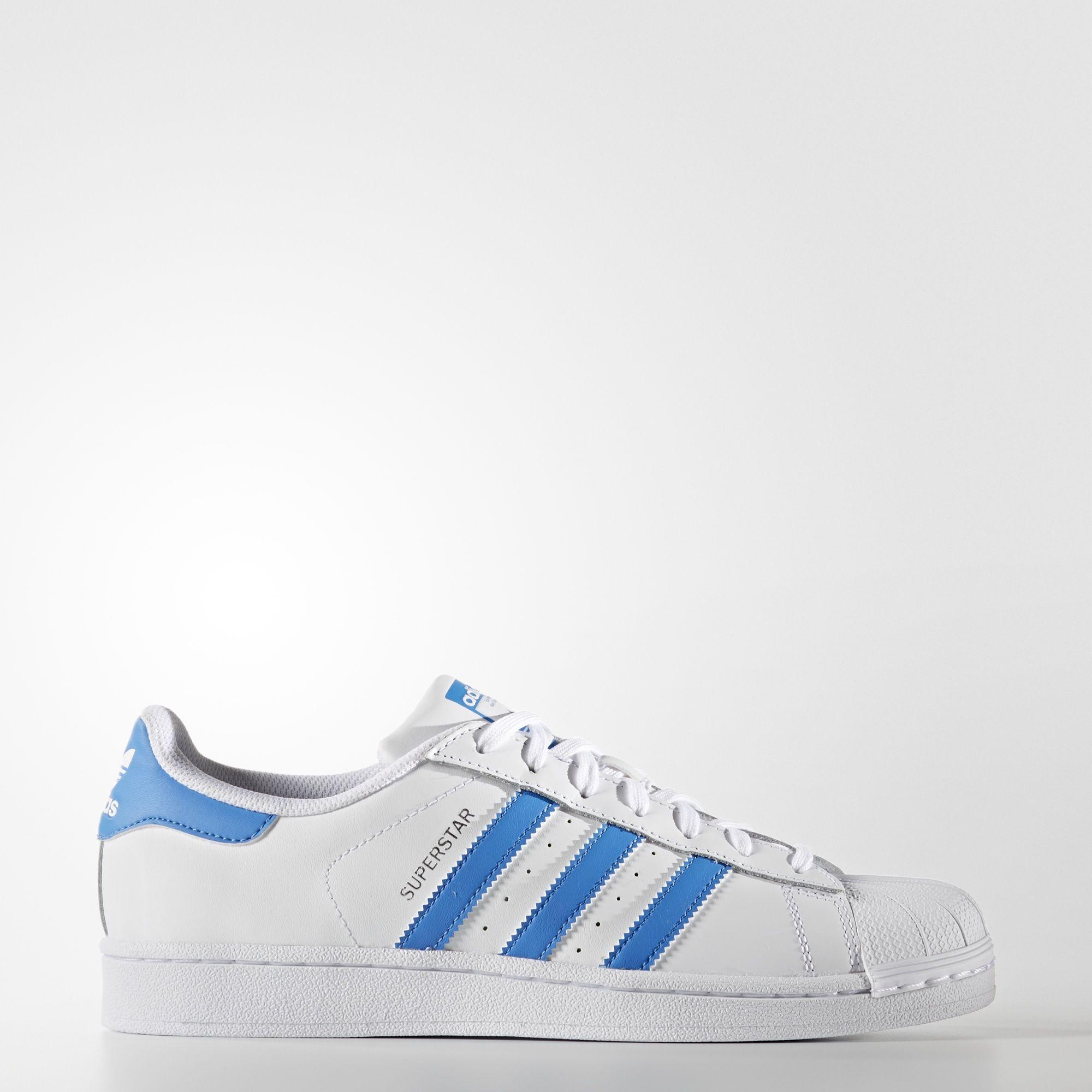 818d9d21046 Sneakers S75929 Zapatillas Adidas Superstar Blanco y Azul Hombre