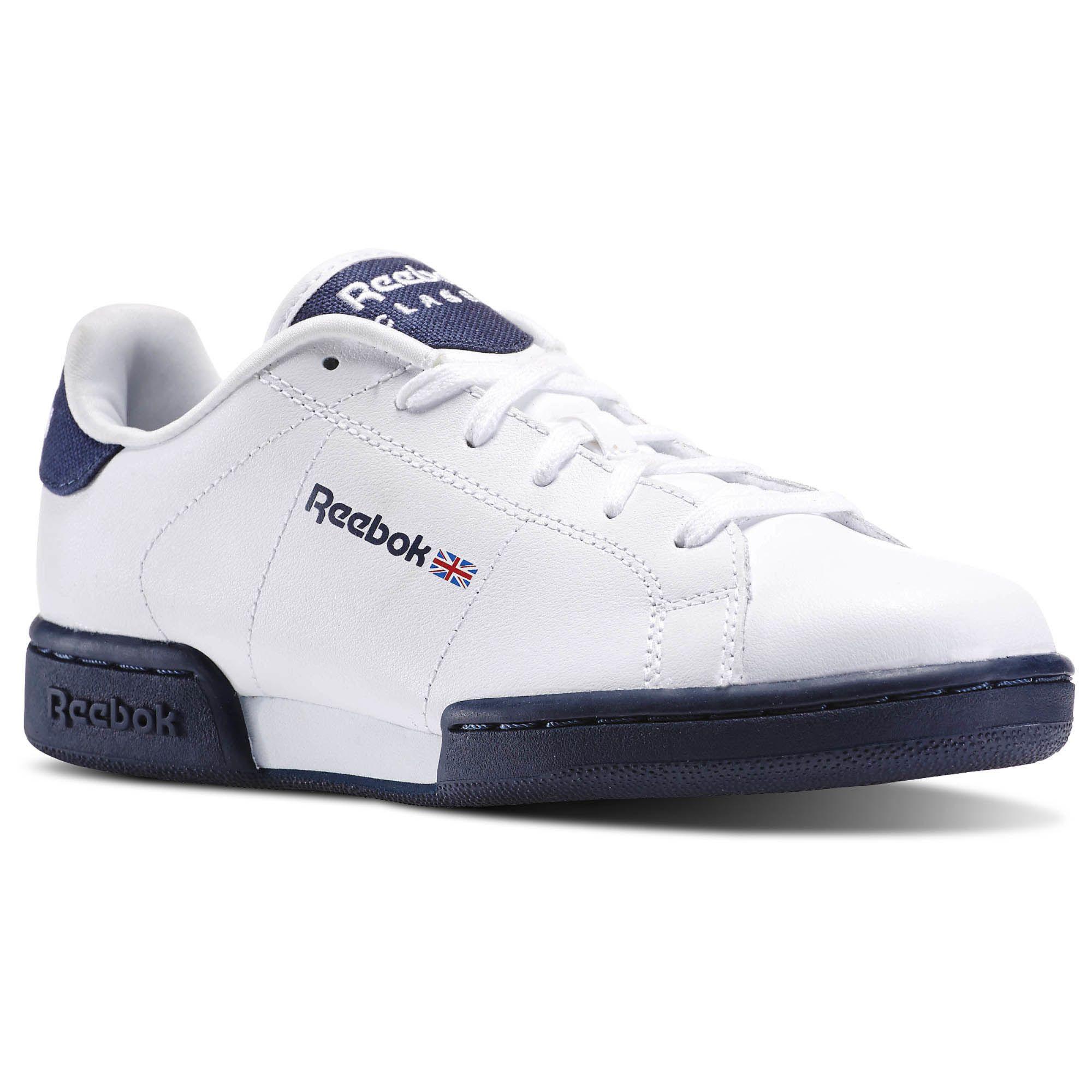 bd112e9fa Sneakers V70395 Zapatillas Reebok Classic NPC II Blanco y Azul